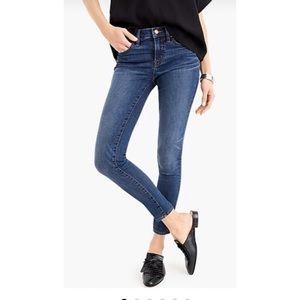 J. Crew Toothpick Ankle Crop Jeans
